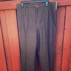 Women's pinstripe trousers pants size 14